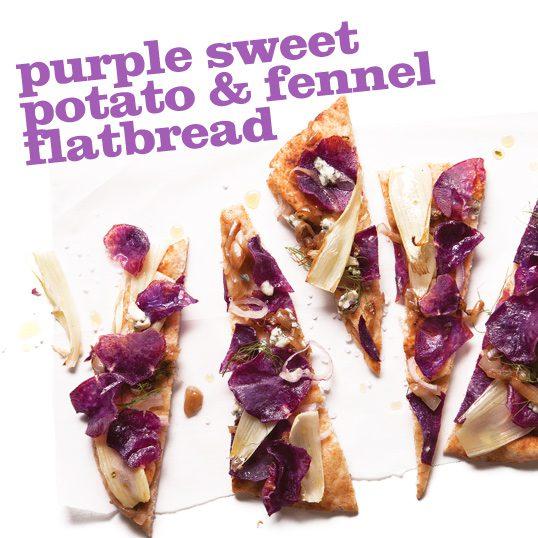 Frieda's Specialty Produce - Purple Sweet Potato Fennel Flatbread