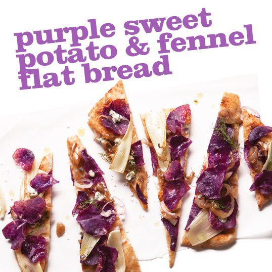 Frieda's Specialty Produce - Purple Sweet Potato Fennel Flat Bread
