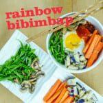 Rainbow Bibimbap