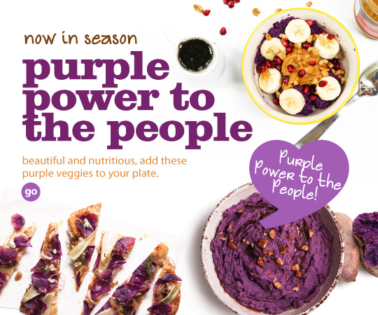 Frieda's Specialty Produce - Purple Power to the People