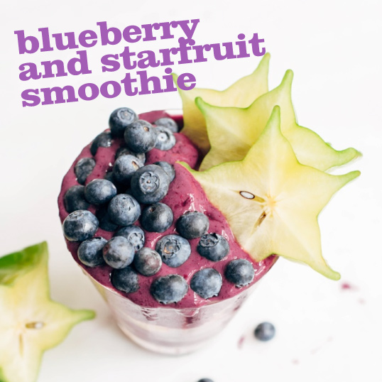 Frieda's Specialty Produce - Blueberry Starfruit Smoothie
