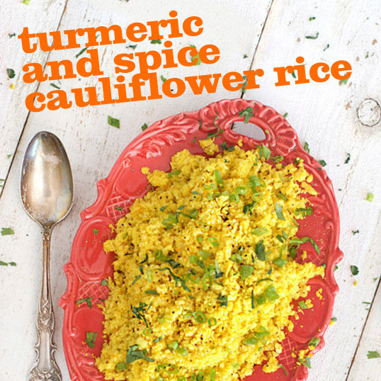 Frieda's Specialty Produce - Turmeric Spice Cauliflower Rice