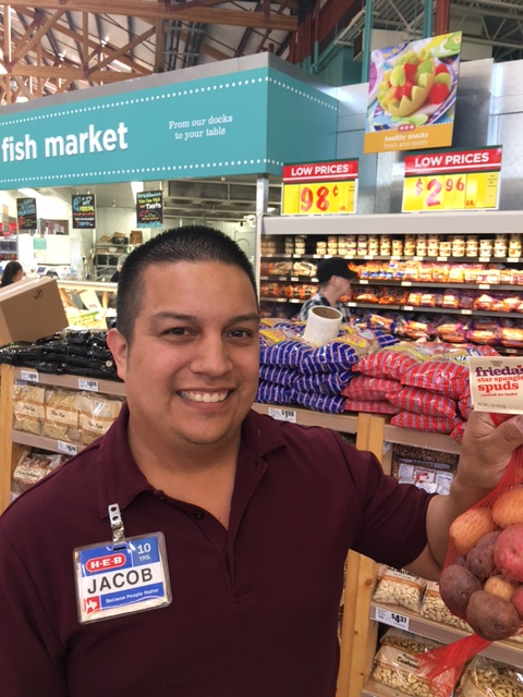 Frieda's Specialty Produce - What's On Karen's Plate - Blog - HEB Produce Manager Jacob
