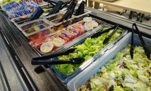 Frieda's Specialty Produce - Let's Move Salad Bar to School Donation - Oak Middle School - Los Alamitos, California