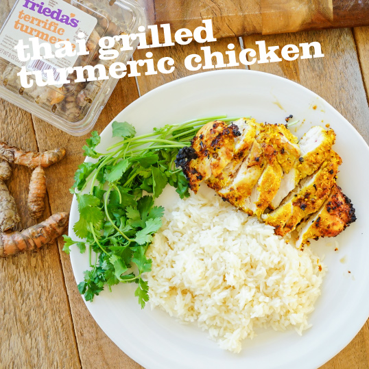 Frieda's Specialty Produce - Thai Grilled Turmeric Chicken