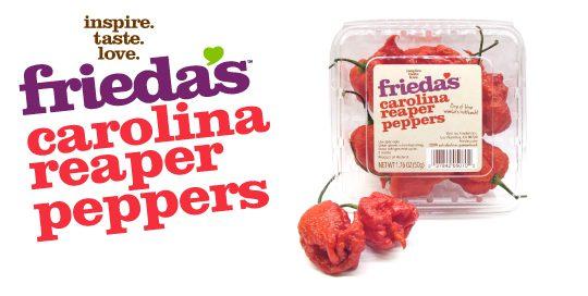 Carolina Reaper Peppers Frieda S Inc The Specialty