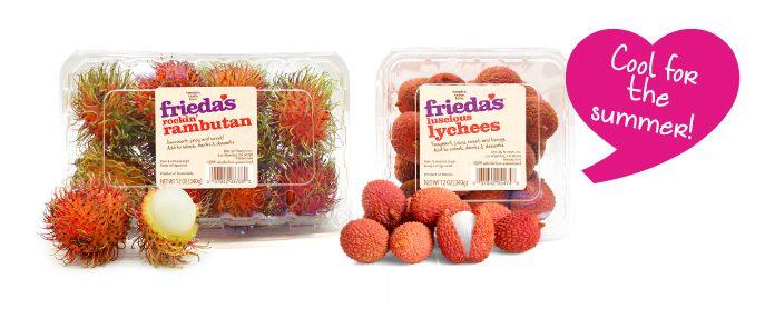 Frieda's Specialty Produce - Rambutan - Lychee