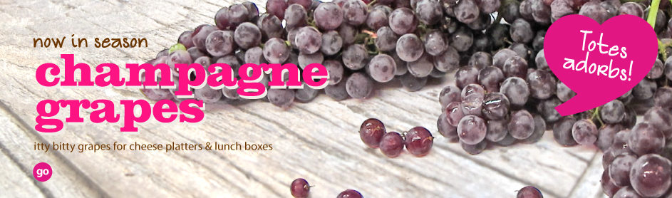 Frieda's Specialty Produce - Champagne Grapes