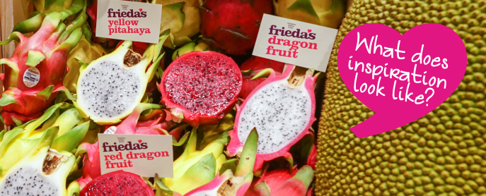 Frieda's Specialty Produce - PMA Foodservice - Yellow Pitahaya