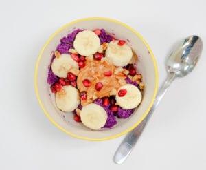 Frieda's Specialty Produce - Purple Power Breakfast Bowl
