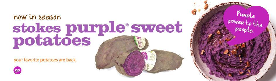 Frieda's Specialty Produce - Stokes Purple Sweet Potatoes