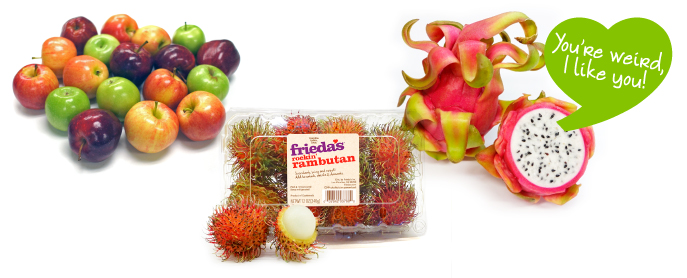 Frieda's Specialty Produce - Not Too Cool For School