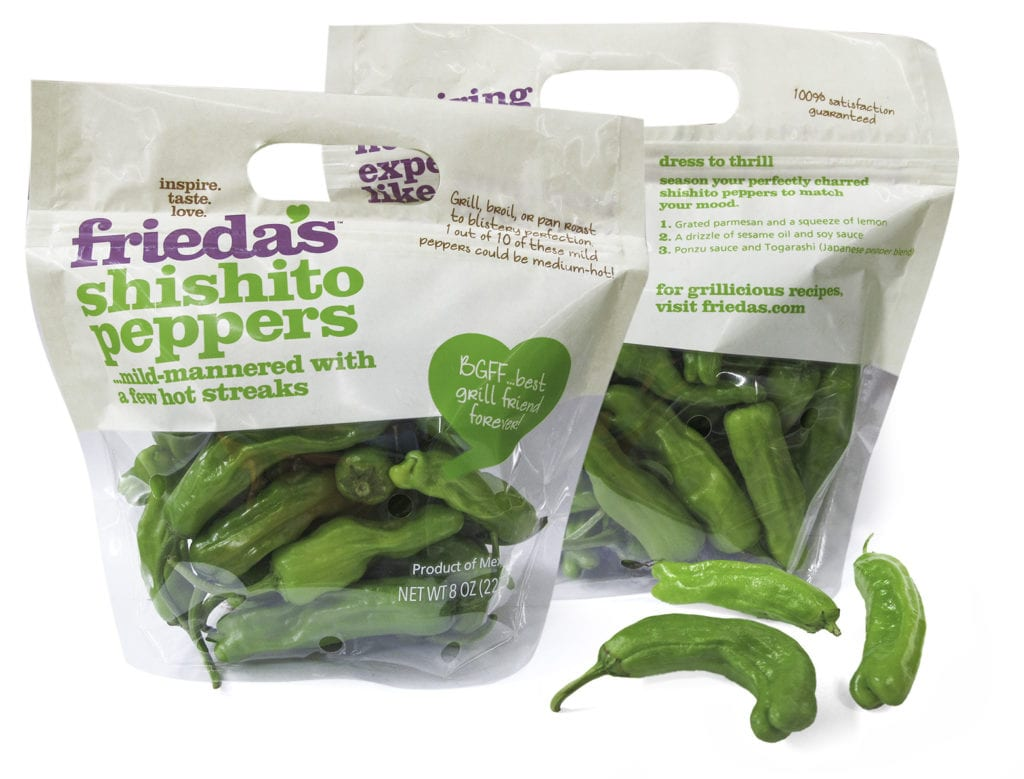 Frieda's Specialty Produce - Shishito Peppers