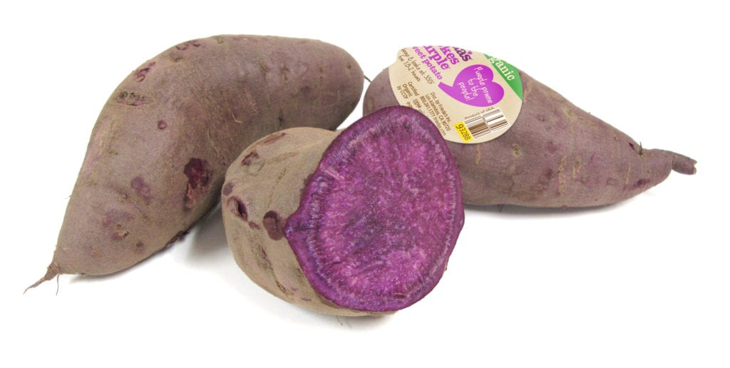 Organic Stokes Purple Sweet Potato