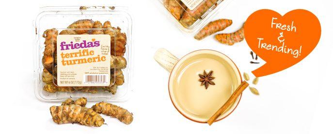 Frieda's Specialty Produce - Turmeric - Fresh & Trending