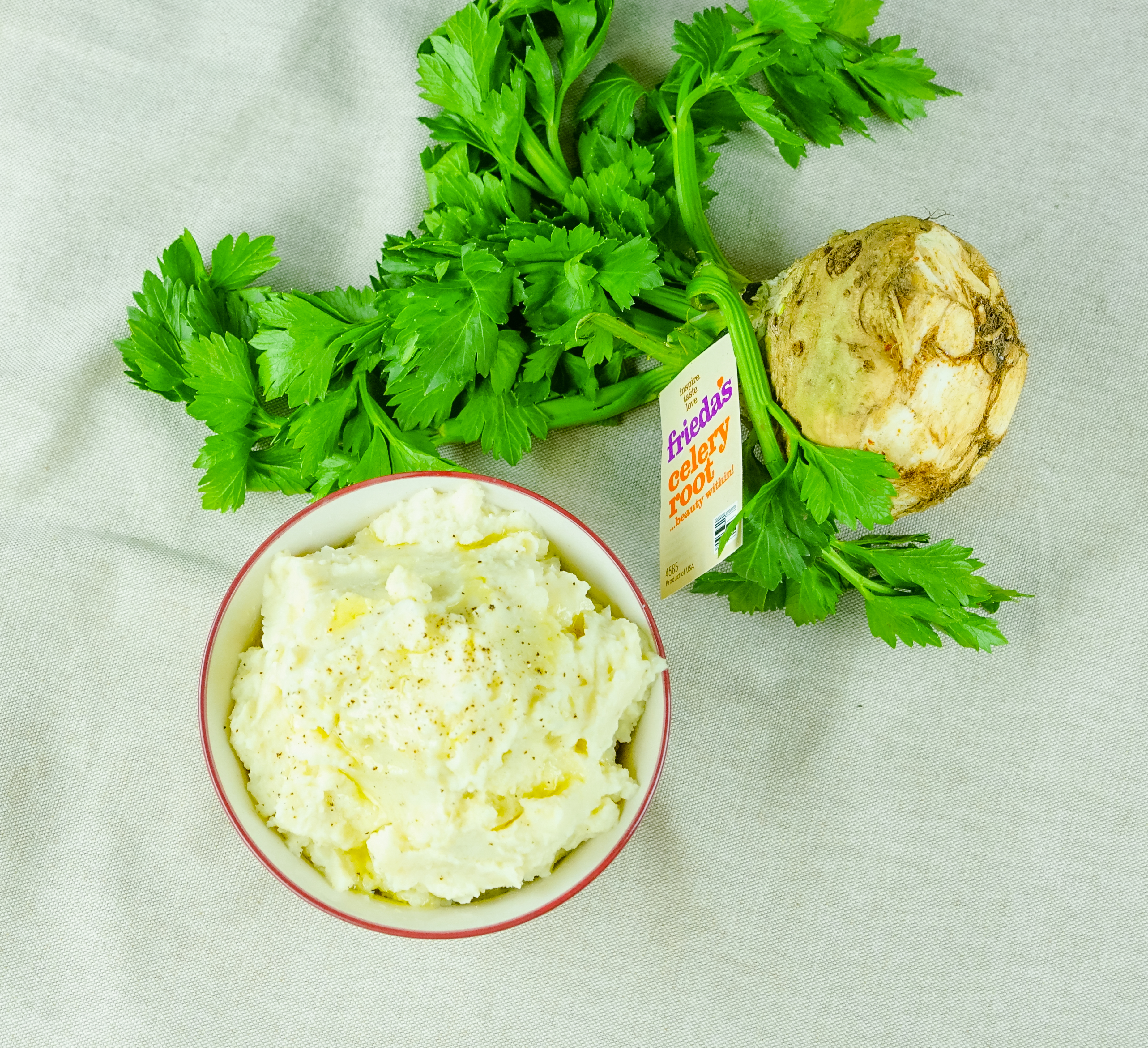 Frieda's Specialty Produce - Celery Root and Cauliflower Puree
