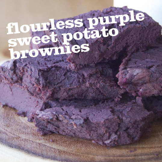 Frieda's Specialty Produce - Flourless Purple Sweet Potato Brownie