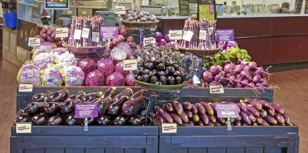Frieda's Specialty Produce - Purple Power - Retail Display
