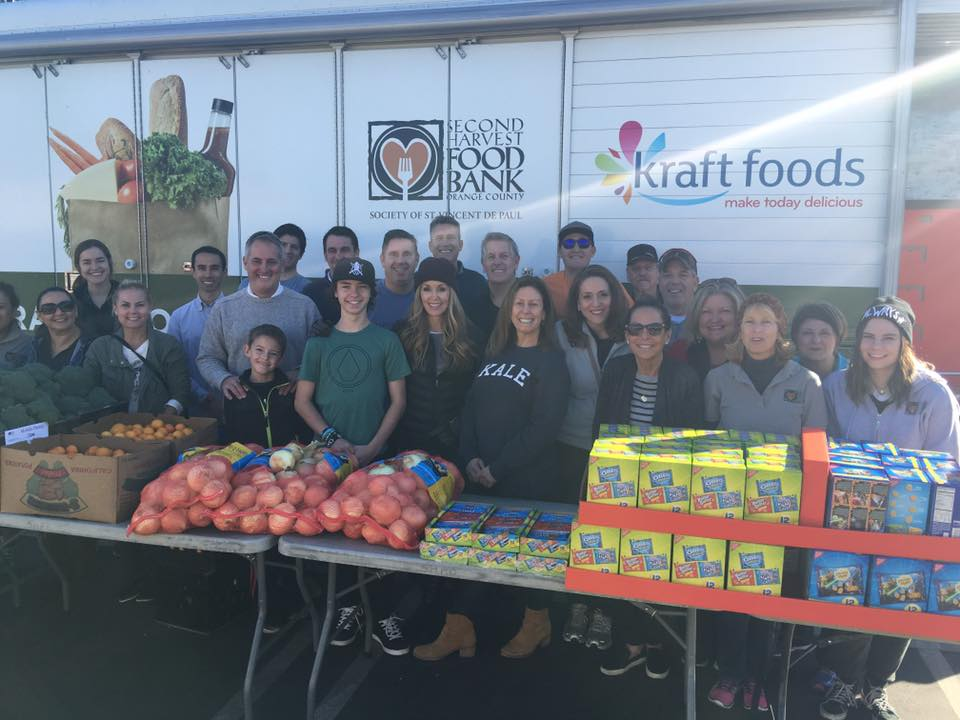 Second Harvest Food Bank's mobile pantry