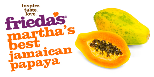 Frieda's Specialty Produce - Martha's Best Jamaican Papaya