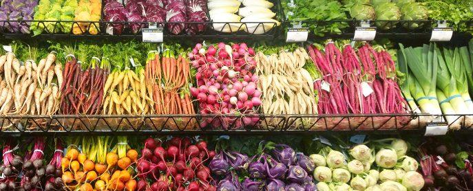 Frieda's Specialty Produce - Spring Produce Display