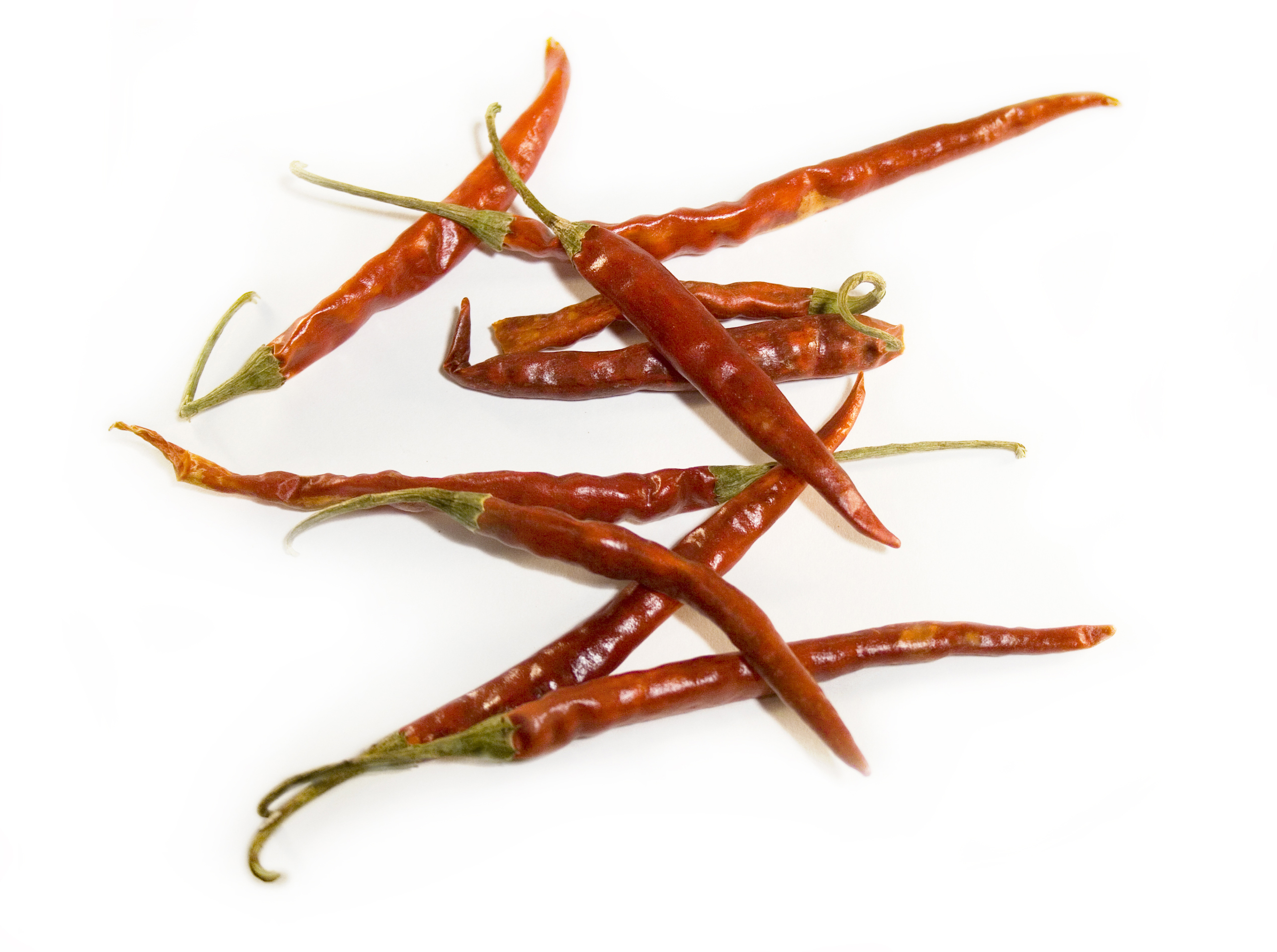 Dried De Arbol Peppers Image