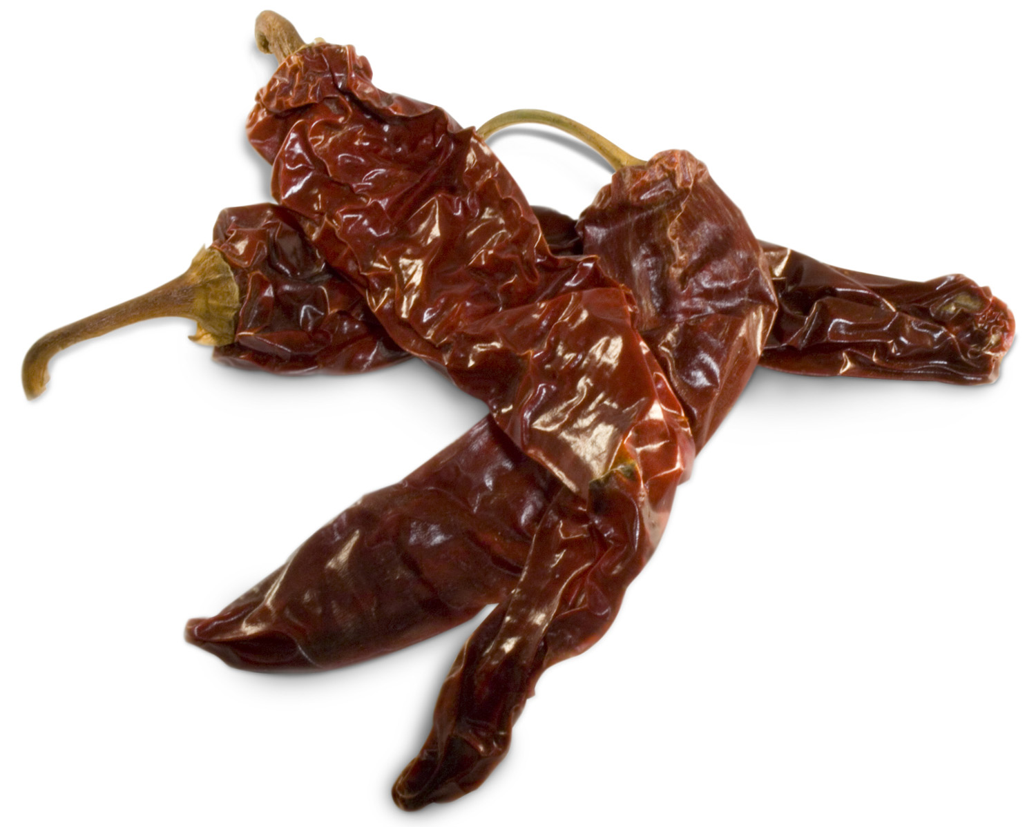 Dried New Mexico Peppers Image