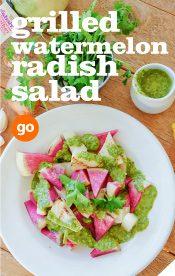 Frieda's Specialty Produce - Grilled Watermelon Radish Salad