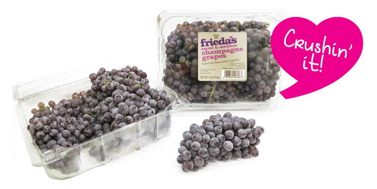 Frieda's Specialty Produce - Champagne Grapes - Crushin' It