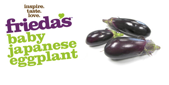 Frieda's Specialty Produce - Baby Japanese Eggplant