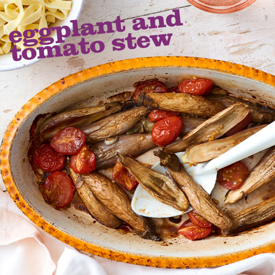 Frieda's Specialty Produce - Eggplant and Tomato Stew