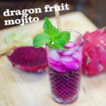 Dragon Fruit Mojito