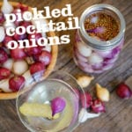 Pickled Cocktail Onions