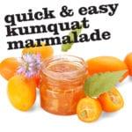Quick & Easy Kumquat Marmalade