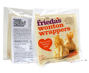 Frieda's Wonton Wrappers