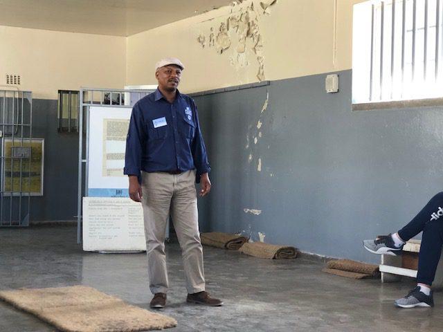 Karen's blog - Robben Island Prison Tour