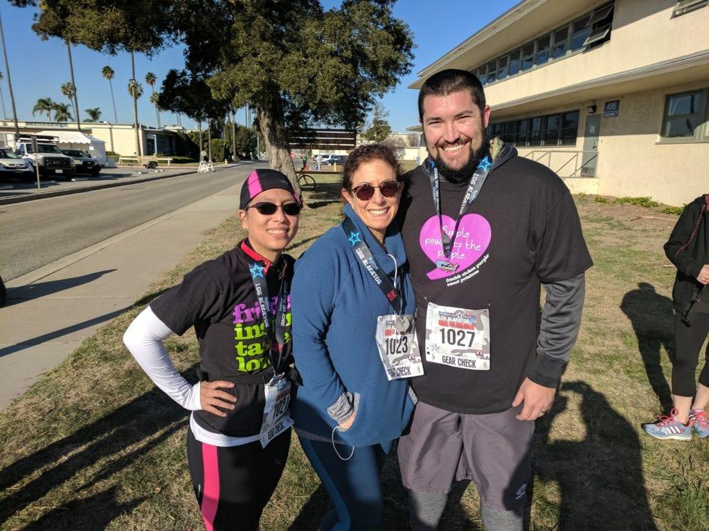 Karen Caplan Oakley Boren Matt Hubbard - Race on the Base 2018