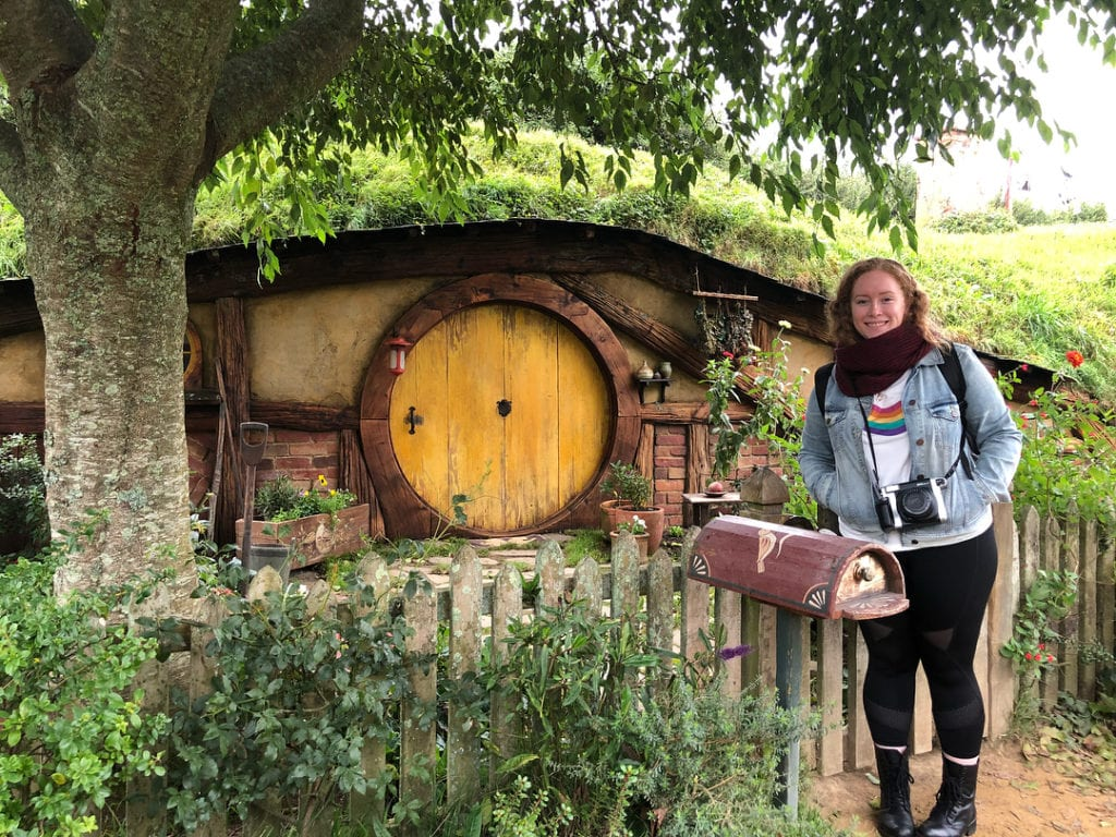 Karen's Blog - Sophia Jackson - New Zealand - Hobbiton