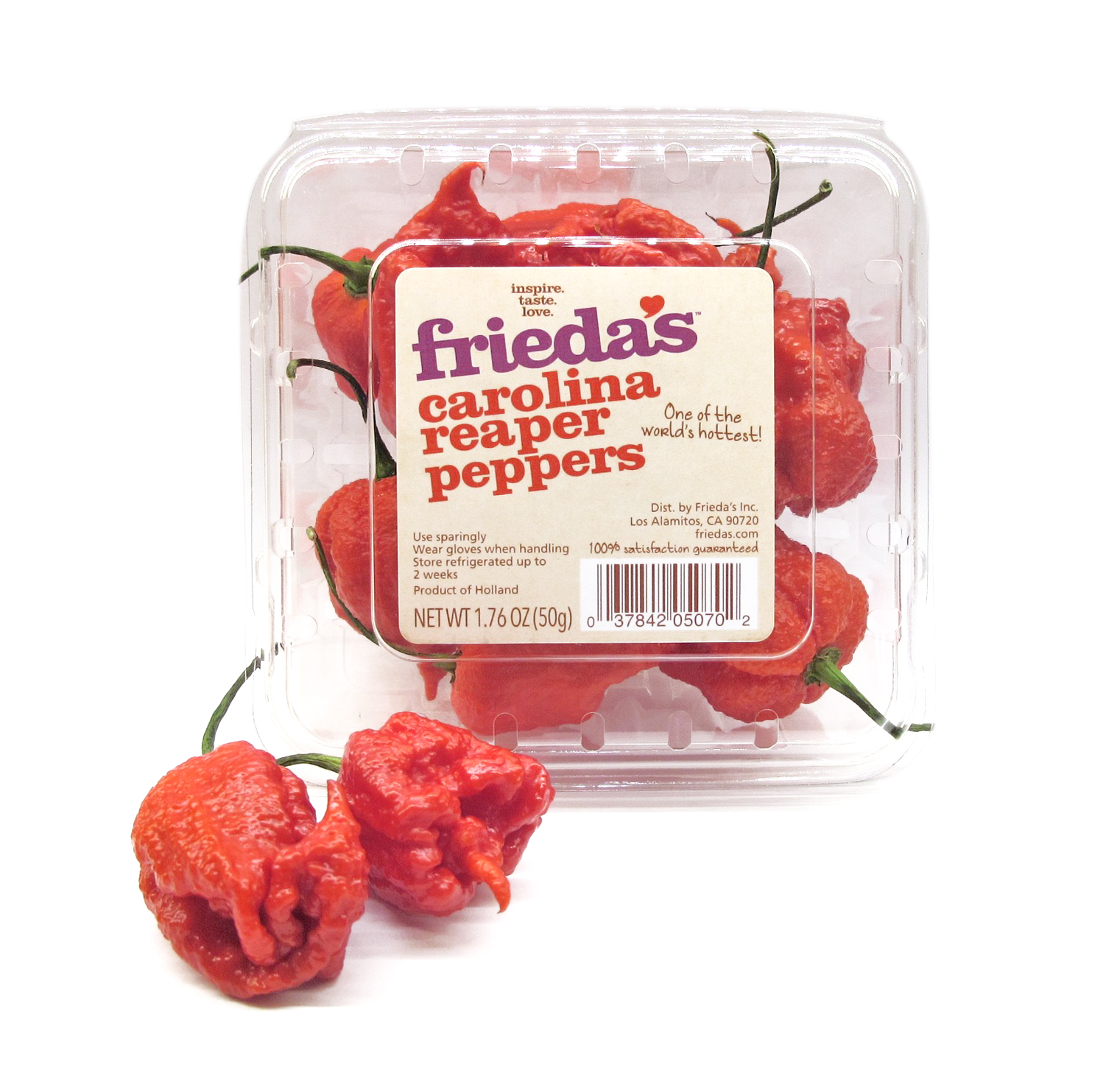 Carolina Reaper Peppers Image