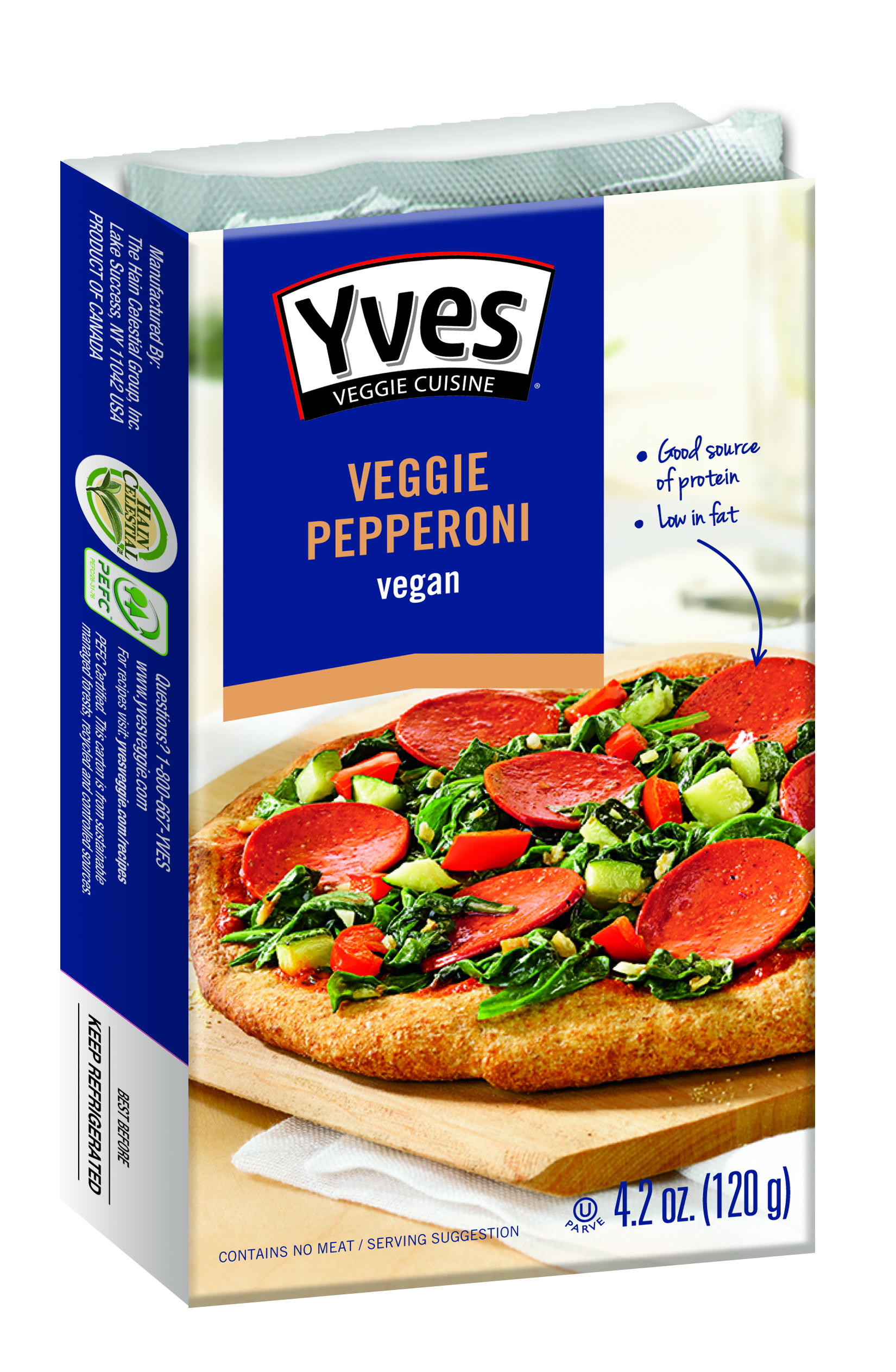 Frieda's Specialty Produce - Yves Veggie Pepperoni