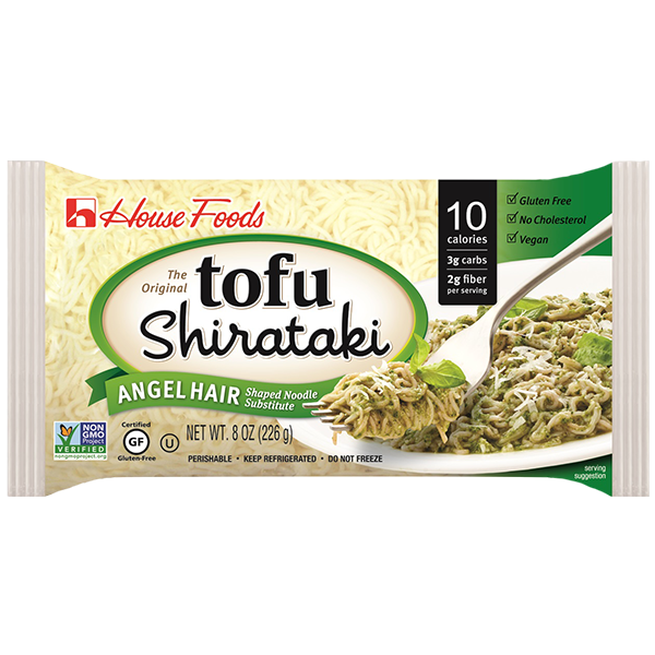 Frieda's Specialty Produce - House Foods Tofu Shirataki Angel Hair Noodles