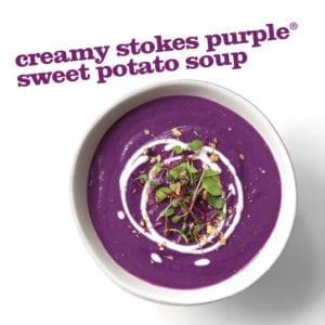 Frieda's Specialty Produce - Stokes Purple Sweet Potato Soup