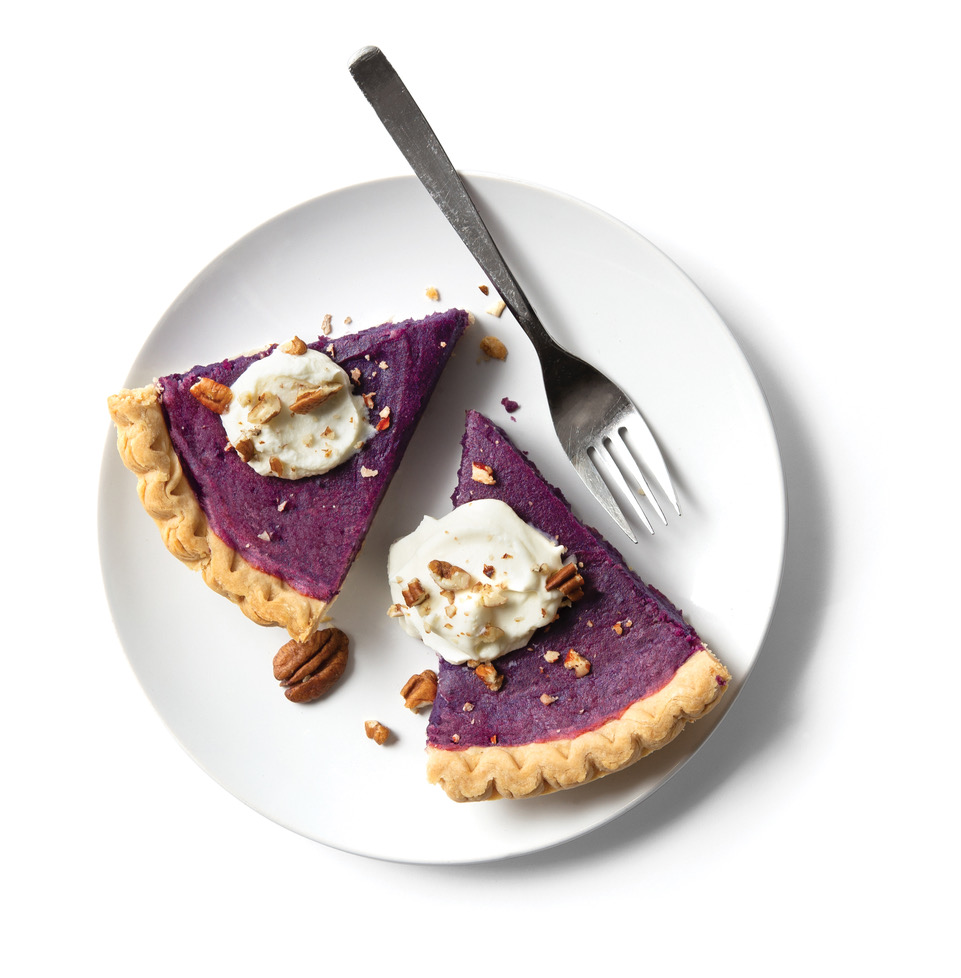 Frieda's Stokes Purple Sweet Potato Pie