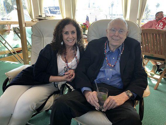 Karen and Charlie Munger