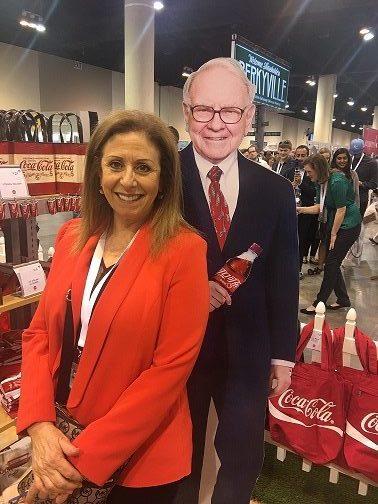 Karen and Warren Buffett